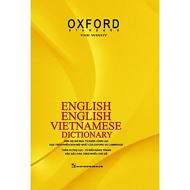 Từ điển Anh – Anh- Việt (Bìa Vàng cứng) (Tặng Bookmark xinh xắn)