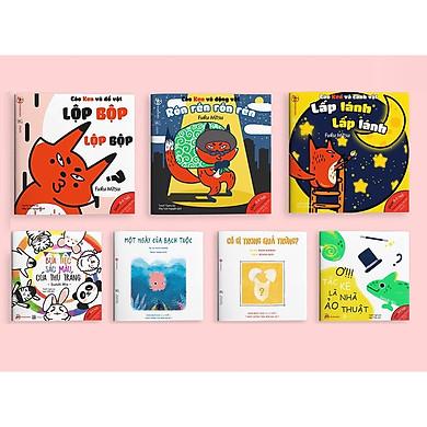Combo 2 bộ Ehon Âm thanh và Màu sắc - Cho bé 0-6 tuổi thông minh và sáng tạo (Tặng kèm cuốn Những Câu Chuyện Kinh Điển)