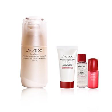 Bộ sản phẩm Shiseido Benefiance Wrinkle Day Emulsion 75ml