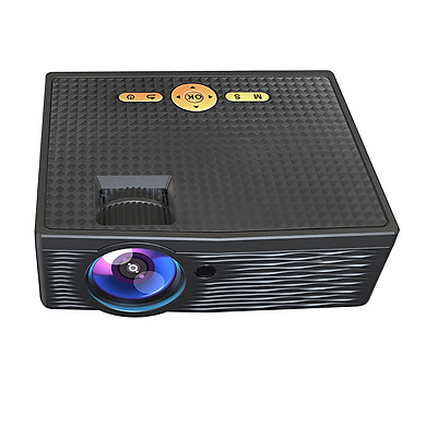 Mini Projector 1080P Supported 5000 Lux 150 Inch Display Portable Video Movie Projector Built-in Speaker with