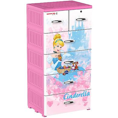 Tủ nhựa Đại Đồng Tiến Fairy Princess P1821