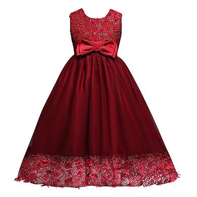 Đầm Dài Thêu Hoa Cao Cấp D351