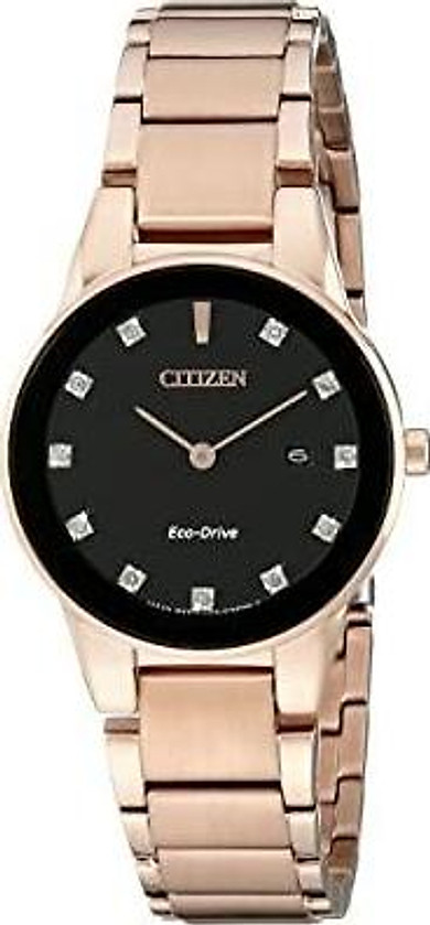 Citizen Eco-Drive Women's GA1058-59Q Axiom Rose Gold Watch