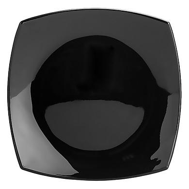 Đĩa Thủy Tinh Luminarc Quadrato Black 19cm