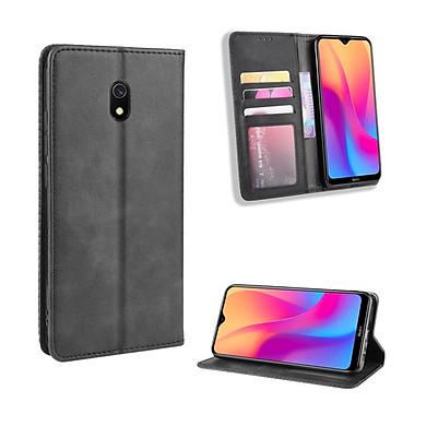 Bao da Flip Wallet Leather dạng ví đa năng siêu bền siêu êm dành cho Xiaomi Redmi 8A