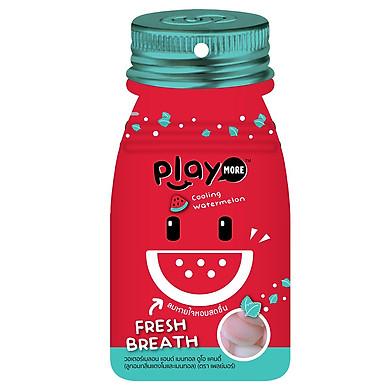 Kẹo the vị dưa hấu Playmore (12g)