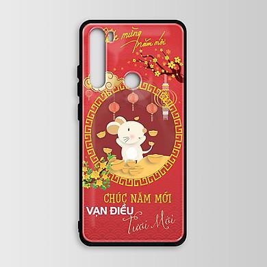 Ốp lưng kính dành cho Xiaomi Redmi Note 8 Pro in hình Mùa Xuân Tết đa dạng - M44