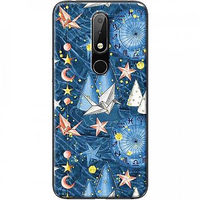 Ốp lưng dành cho Nokia 6.1 Plus mẫu Hạc giấy