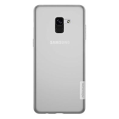 Ốp Lưng Dẻo Samsung Galaxy A8 Plus 2018 Nillkin - Trong Suốt - Hàng Chính Hãng