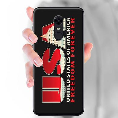 Ốp lưng dành cho Xiaomi Redmi 5  mẫu USA