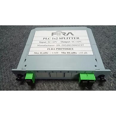 Bộ chia quang PLC 1*2 SC/APC dạng Box - Hàng Chính Hãng