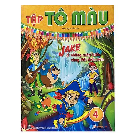 Tô Màu - Jake & Những Cướp Biển Vùng Đất Thần Tiên (Tập 4)