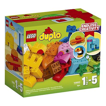 [Xả Tồn] Mô Hình Lego Duplo - Bộ Chi Tiết Lắp Ráp Sáng Tạo 10853 (75 Mảnh Ghép)