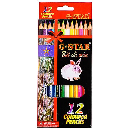 Chì 12 Màu G-Star Dài