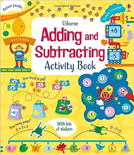 Usborne Adding and Subtracting Activity Book