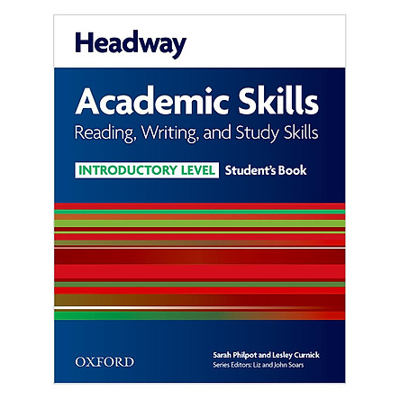 Reading, Writing And Study Skills Student Book With Oxford Online Skills Introductory