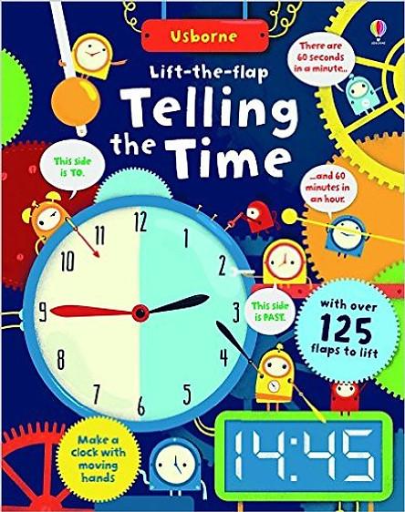 Usborne Lift-the-Flap Telling the Time