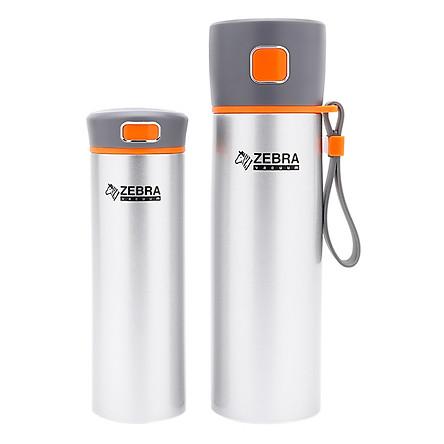 Bộ Bình Giữ Nhiệt Flask Zebra 184165 (480ml + 300ml)  - Màu ngẫu nhiên