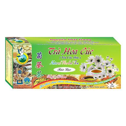 Trà Hoa Cúc Điều Hòa Huyết Áp Nguyên Thái Trang (2g x 50 Gói)