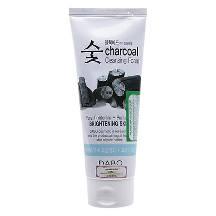 Sữa Rửa Mặt Than Ngăn Ngừa Mụn Sạch Nhờn Dabo Charcoal (150ml)