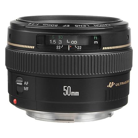 Lens Canon 50mm f/1.4 USM EF (Lê Bảo Minh) - Hàng Chính Hãng