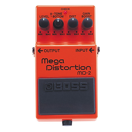 Phơ Guitar Boss Mega Distortion MD-2 (Bàn Đạp Fuzz Pedals Effects)