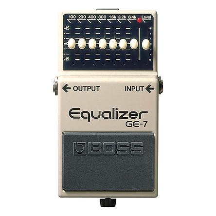 Phơ Guitar Boss Equalizer GE-7 (Bàn Đạp Fuzz Pedals Effects)