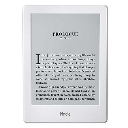 Máy Đọc Sách Kindle 2018 (8th) - Trắng - Hàng chính hãng