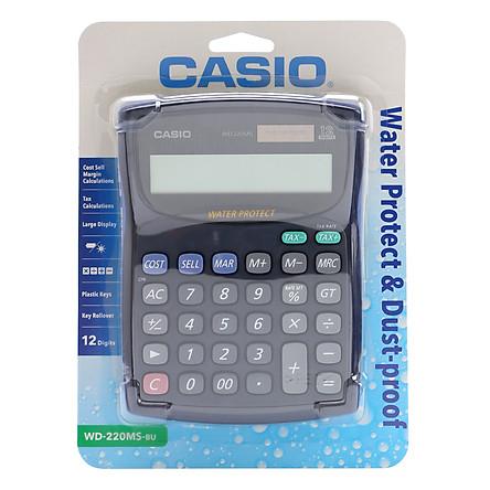 Máy Tính Để Bàn Casio WD-220MS-BU