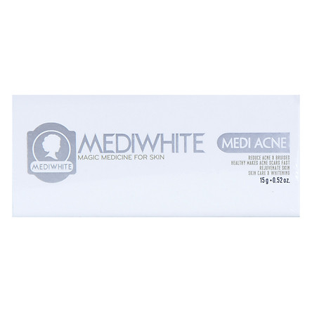 Kem Trị Mụn Trắng Da Medi White (15ml)