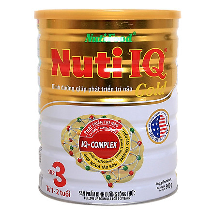 Sữa Bột Nuti IQ Gold Step 3 (900g)