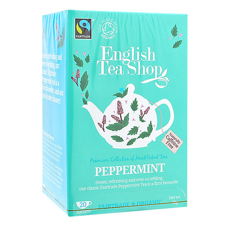 Trà Organic Peppermint English Tea Shop