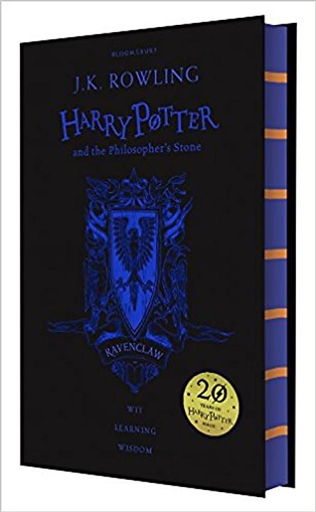 Harry Potter Part 1: Harry Potter And The Philosopher's Stone (Hardback) Ravenclaw Edition (Harry Potter và hòn đá phù thủy) (English Book)
