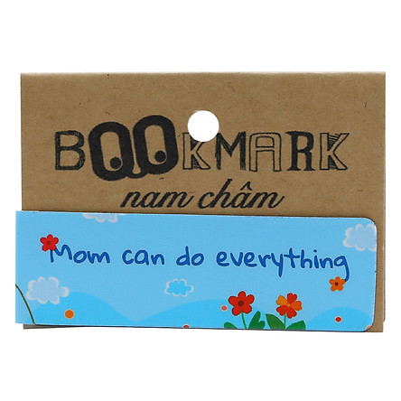 Bookmark Nam Châm Kính Vạn Hoa - Mom Can Do Everything