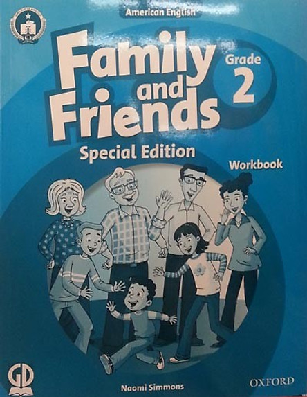 Family And Friends (Ame. Engligh) (Special Ed.) Grade 2: Workbook