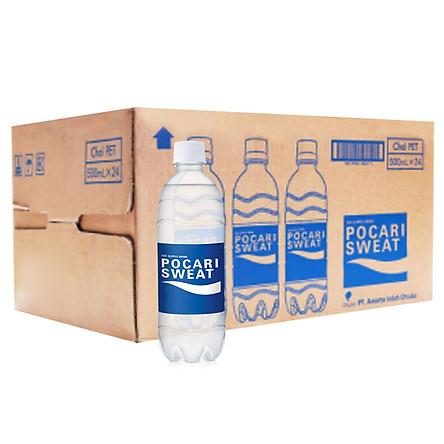 Thùng 24 Chai Thức Uống Bổ Sung ION Pocari Sweat (500ml / Chai)