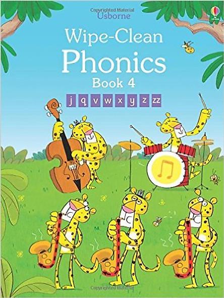 Usborne Wipe-Clean  Phonics Book 4