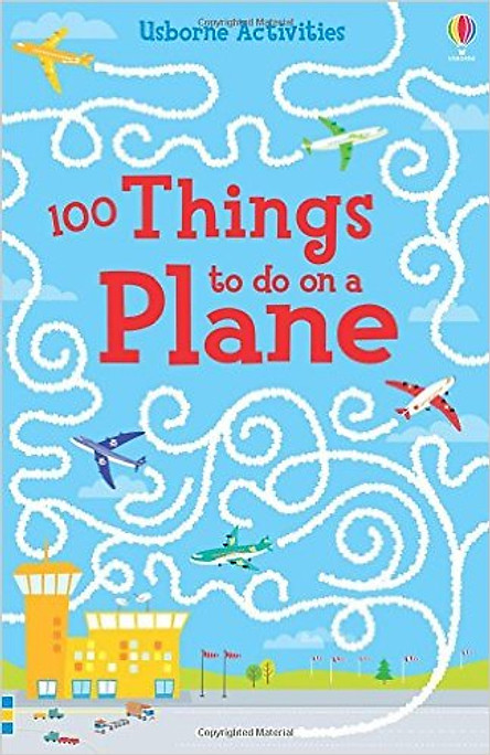 Usborne Activities 100 Things To Do On A Plane