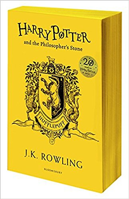 Harry Potter Part 1: Harry Potter And The Philosopher's Stone (Paperback) Hufflepuff Edition (Harry Potter và Hòn đá phù thủy) (English Book)