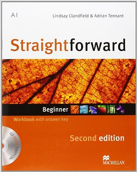 Straightforward (2 Ed.) Beg: Workbook With Key With CD - Paperback