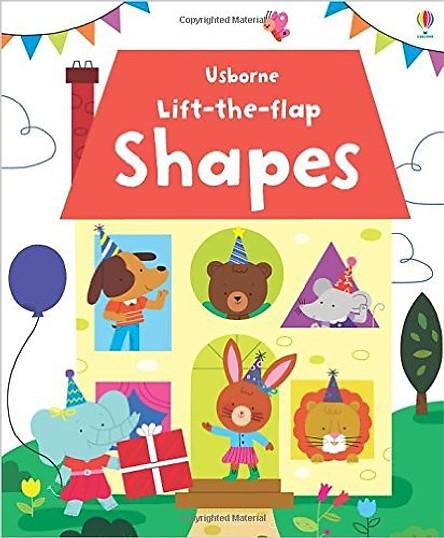 Usborne Lift-the-Flap Shapes
