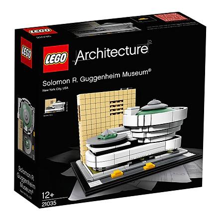 Bộ Lắp Ghép LEGO Architecture Bảo Tàng Solomon R.Guggenheim 21035 (744 Mảnh Ghép)