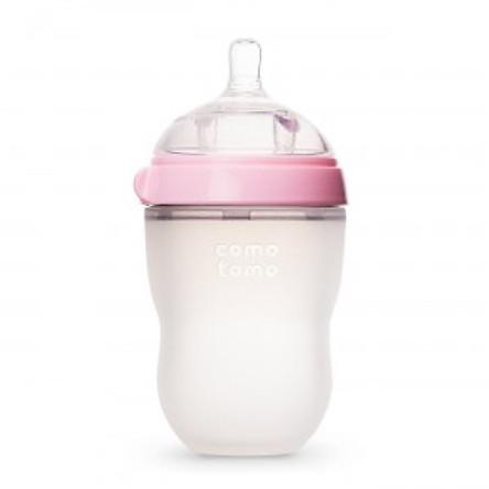 Bình Sữa Silicone Comotomo CT00014 250ml - Hồng