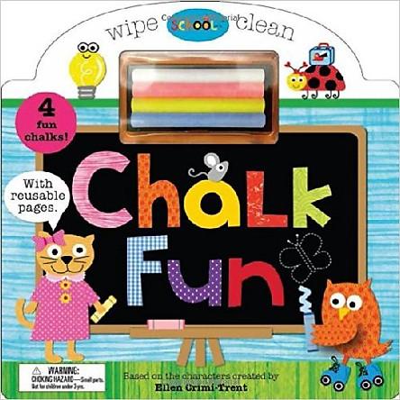 Schoolies Board Books Chalk Fun