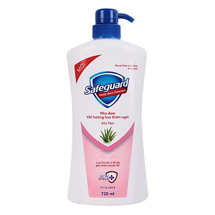 Sữa Tắm Safeguard Nha Đam (720ml)