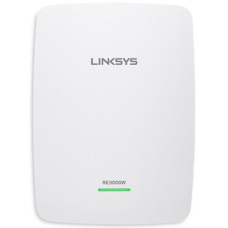 Bộ Kích Sóng Wifi Repeater N300 Linksys RE3000W - Hàng Chính Hãng