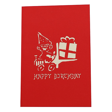Thiệp Nổi 3D Ninrio - Birthday Gifts - BT008