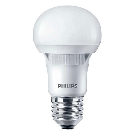 Bóng Đèn Philips LED Ecobright 8W 3000K E27 A60 - Ánh Sáng Vàng - Hàng Chính Hãng