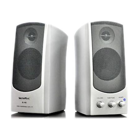 Loa Vi Tính SoundMax A-140/2.0 10W - Hàng Chính Hãng
