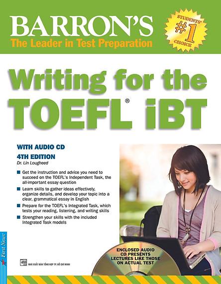 Barron's - Writing For The TOEFL IBT (Kèm CD)